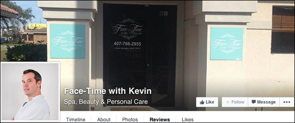 reviews, FaceTime with kevin, media spa reviews, fruit land park, the villages, fl